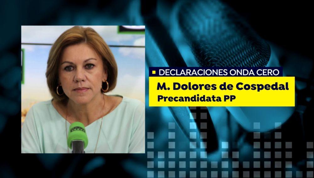 Cospedal apuesta por consensuar una sola candidatura tras la primera vuelta