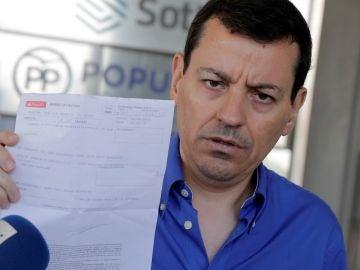 El militante del Partido Popular José Luis Bayo