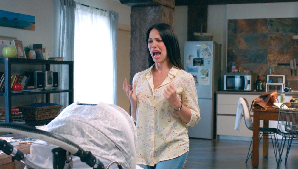 Gotzone pone a prueba su instinto maternal con Elaia