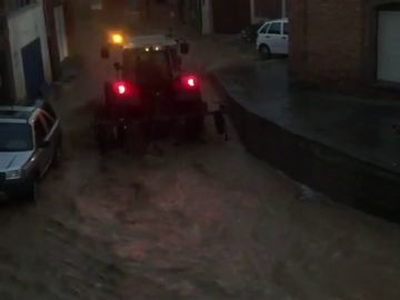 Tromba de agua en Zamora
