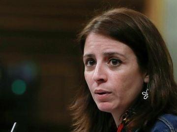 La portavoz del PSOE Adriana Lastra