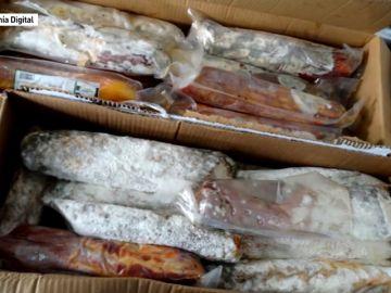 La alerta sanitaria por la carne caducada afecta a 8 marcas de embutidos