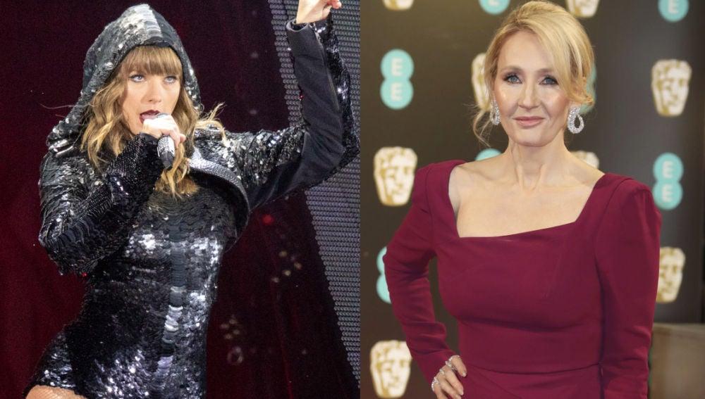 Taylor Swift y J.K. Rowling
