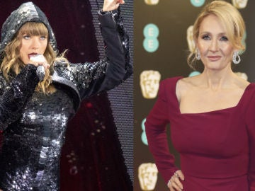 Taylor Swift y J.K. Rowling