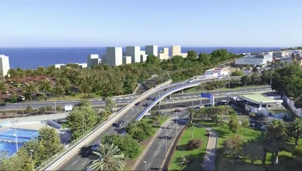 Convierten una refinería en una ciudad sostenible y llena de zonas verdes