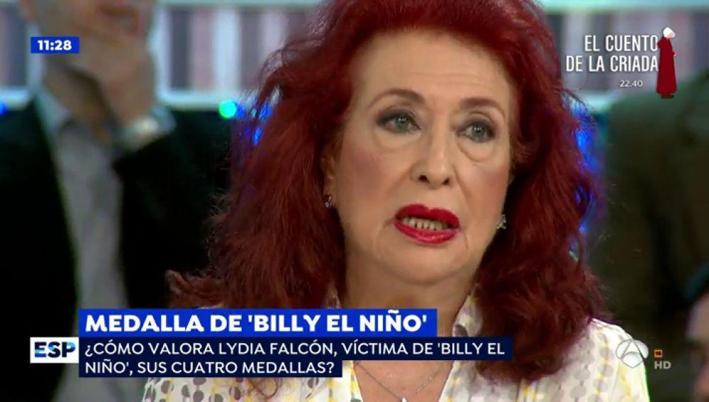 """Lidia Falcón recuerda las torturas de 'Billy El Niño: """"El médico le pidió que me dejara descansar porque no aguantaría más"""""""