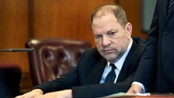 Harvey Weinstein en el juzgado