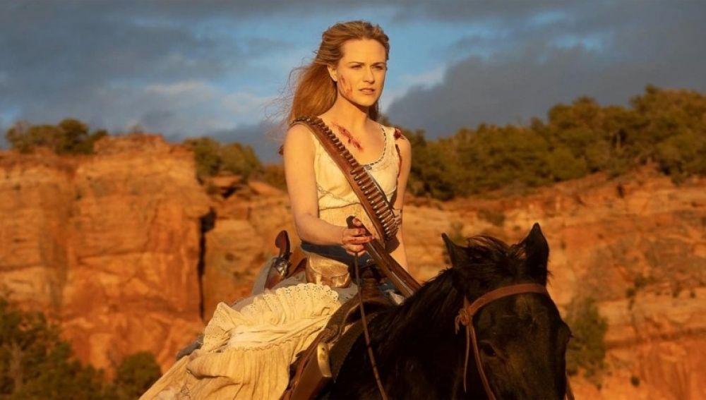 Dolores en el final de temporada de 'Westworld'