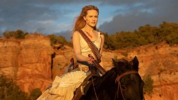 Dolores en el final de temporada de 'Westworld'