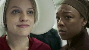 June y Moira, amigas y cómplices que luchan por escapar de su destino como criada en el Centro Rojo