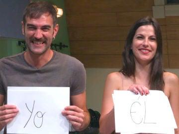 Jon Plazaola y Noemí Ruiz responden a un divertido y comprometido test sobre su relación