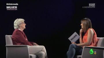La nueva directora de 'El País', Soledad Gallego-Díaz, charla con Sandra Sabatés en Mujer tenía que ser