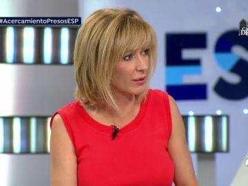 """Susanna Griso regaña a Toni Bolaño en directo: """"Intento cambiar de tema y siempre pones la posdata"""""""