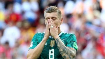 Kroos se lamenta tras la eliminación de Alemania