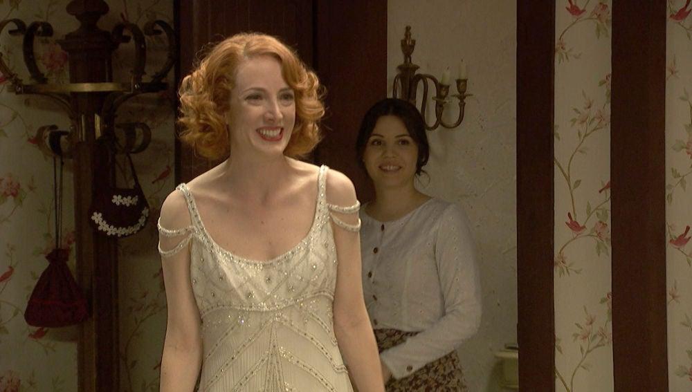 La belleza de Irene inunda Puente Viejo momentos antes de la boda