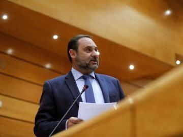 El ministro de Fomento José Luis Ábalos