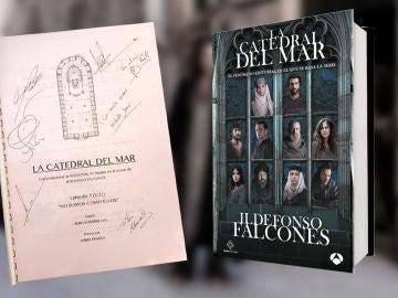 Participa para conseguir el quinto guion de 'La Catedral del Mar' firmado por sus protagonistas