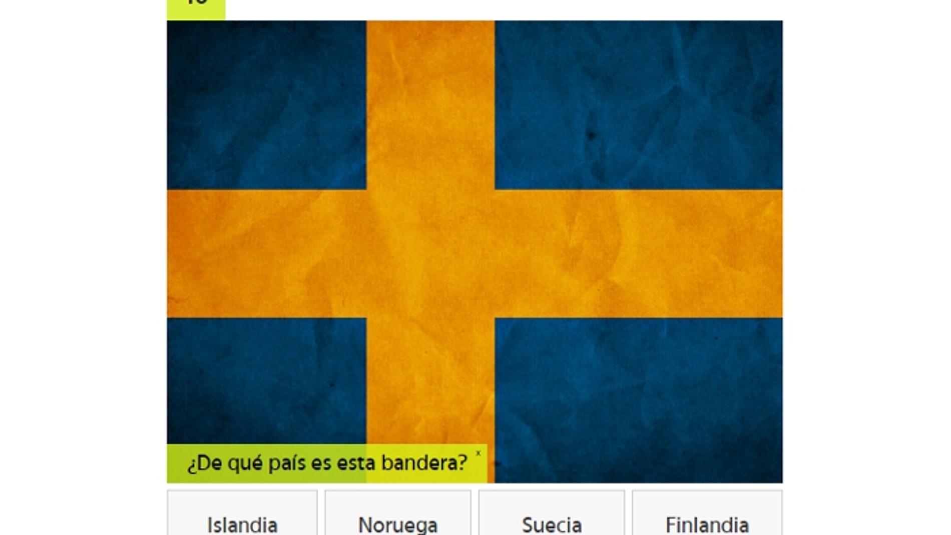 Test de banderas