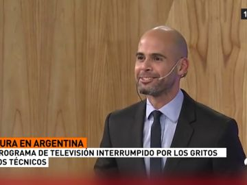 La locura de todo un país: hasta cortaron la emisión de un programa en directo para celebra el gol de Argentina