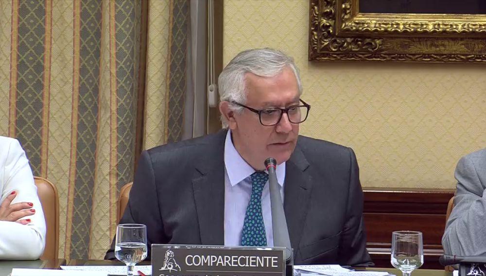 Arenas afirma que al llegar a 'Génova', el entonces tesorero Lapuerta le dijo que los donativos eran legales
