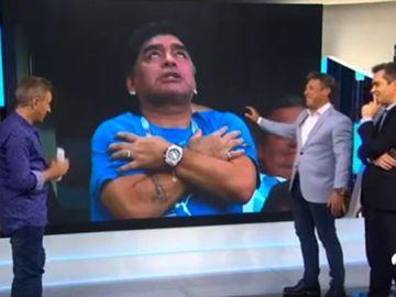 Maradona, ídolo caído