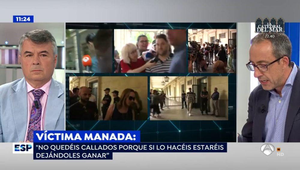 """La víctima de 'La Manada' rompe su silencio: """"Todo el camino que he recorrido no es plato de buen gusto"""""""