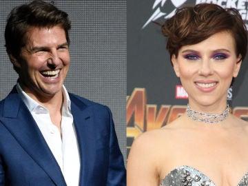 Tom Cruise y Scarlett Johansson