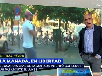 El guardia civil de 'La Manada' intentó sacar el pasaporte