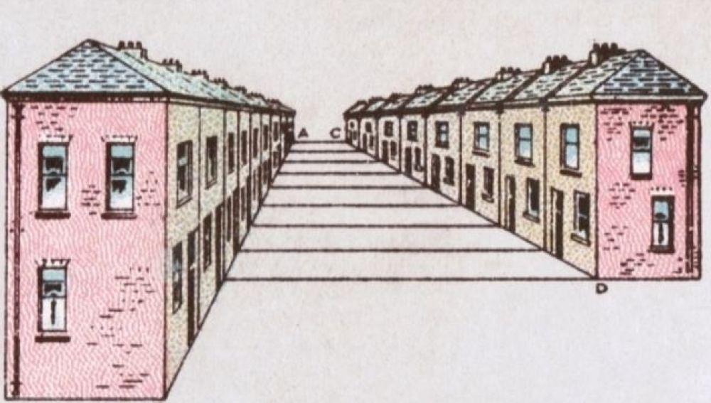 La ilusión óptica de la calle