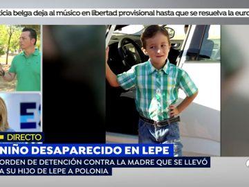 Niño desaparecido Lepe