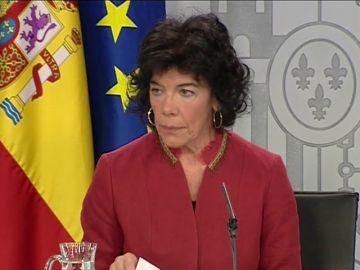 Portavoz del Ejecutivo, Isabel Celáa