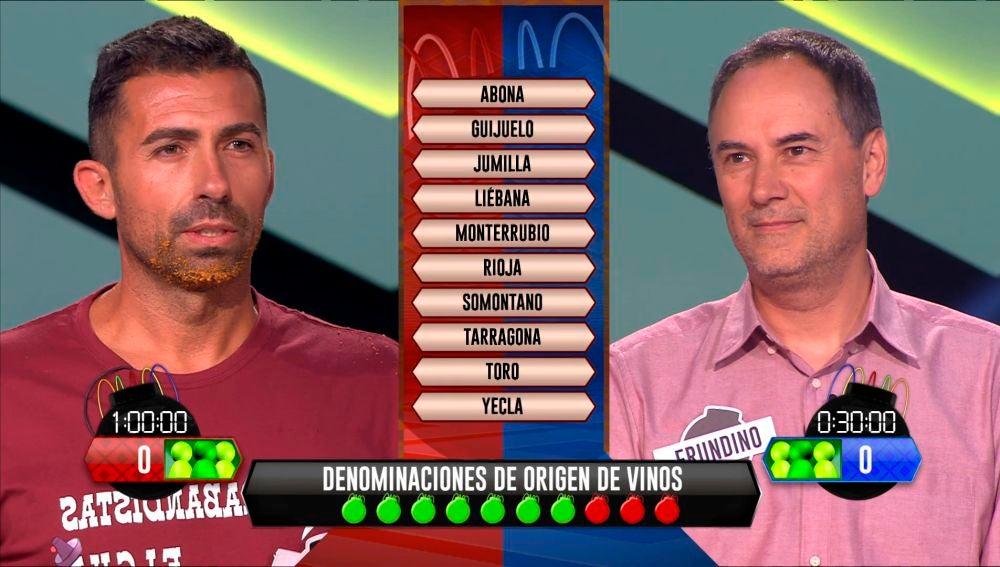 Descubre el resultado del gran duelo entre Sergio y Erundino en '¡Boomb!'