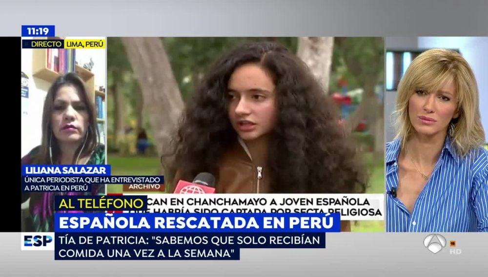 """La tía de la joven española secuestrada en Perú, sobre el estado de salud del bebé: """"Se lo estaban comiendo los mosquitos"""""""