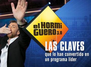 Las claves de 'El Hormiguero 3.0' para ser líder absoluto de su franja por cuarta temporada consecutiva