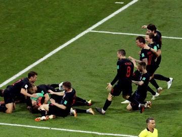 Croacia celebra una victoria