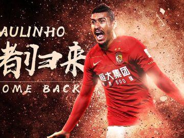 Paulinho vuelve al Guangzhou