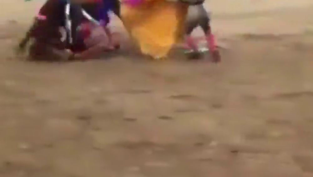 El torero Juan José Padilla, traslado a Sevilla tras descartarse daños en la cabeza después de la cogida aparatosa cogida