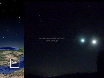 Sin rastro del meteorito avistado en Madrid y que nadie ha conseguido grabar