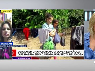"""La tía de Patricia Aguilar, la joven rescatada de una secta en Perú: """"A su bebé de un mes se la estaban comiendo los mosquitos"""""""