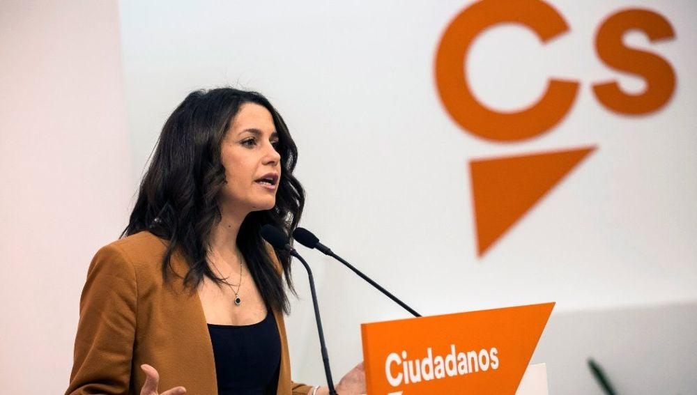 Inés Arrimadas en una imagen de archivo