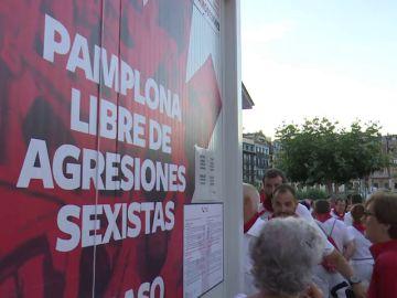 Primera denuncia por abuso sexual en San Fermín