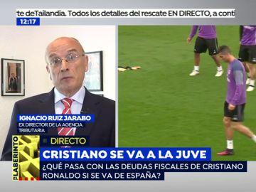 ¿Qué va a pasar con las deudas a hacienda si Cristiano Ronaldo se va a Italia?