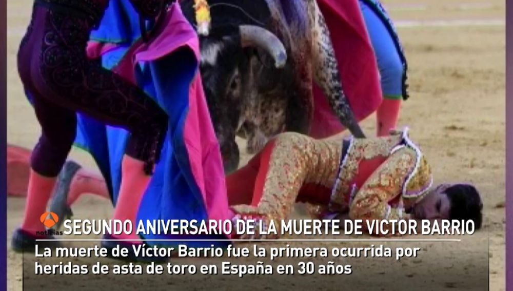 Victor Barrio, más presente en el mundo del toreo con una fundación que lleva su nombre
