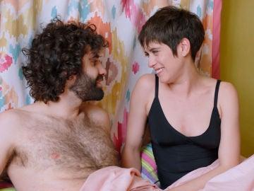 Carmen y Yago, sorprendidos en la cama tras una noche loca