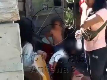 Así llegaba la Policía peruana al campamento donde tenían retenida a Patricia Aguilar