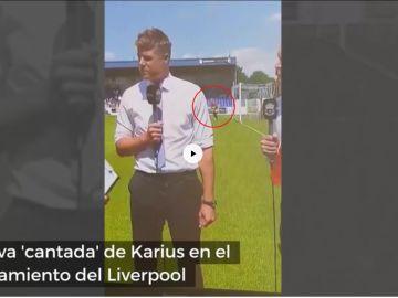 La nueva 'cantada' de Karius