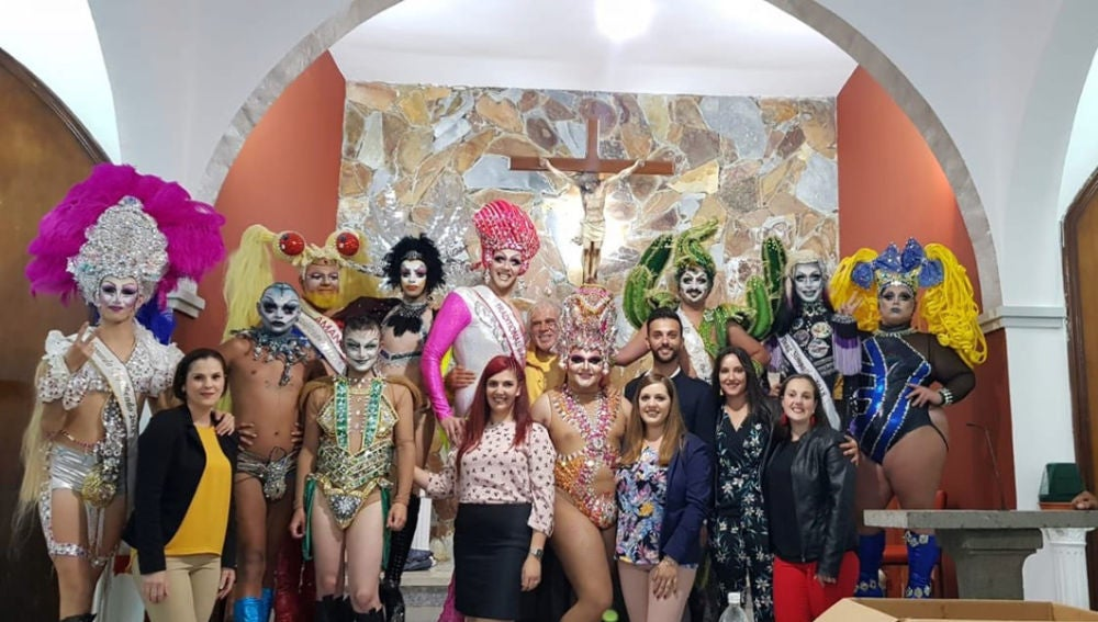 Resultado de imagen de drag queen las breñas telde polémica