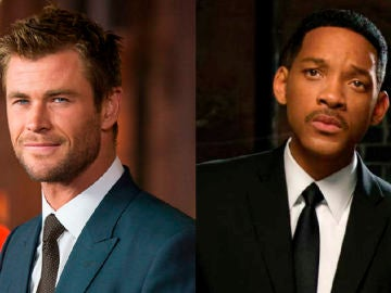 Chris Hemsworth y Will Smith
