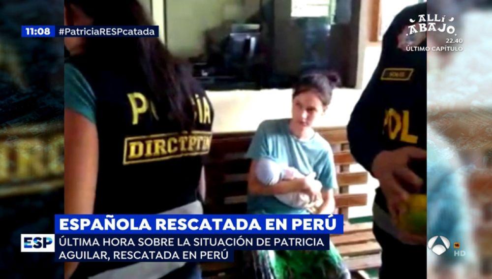 Patricia Aguilar, la joven rescatada de una secta en Perú, se niega a regresar a España con su familia