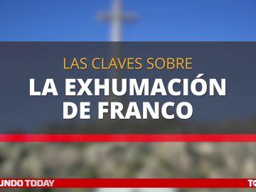 Las claves sobre la exhumación de Franco